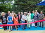 Ribbon Cutting for the Renovated Thomas A. Coughlin Playground, Jefferson Rehabilitation Center