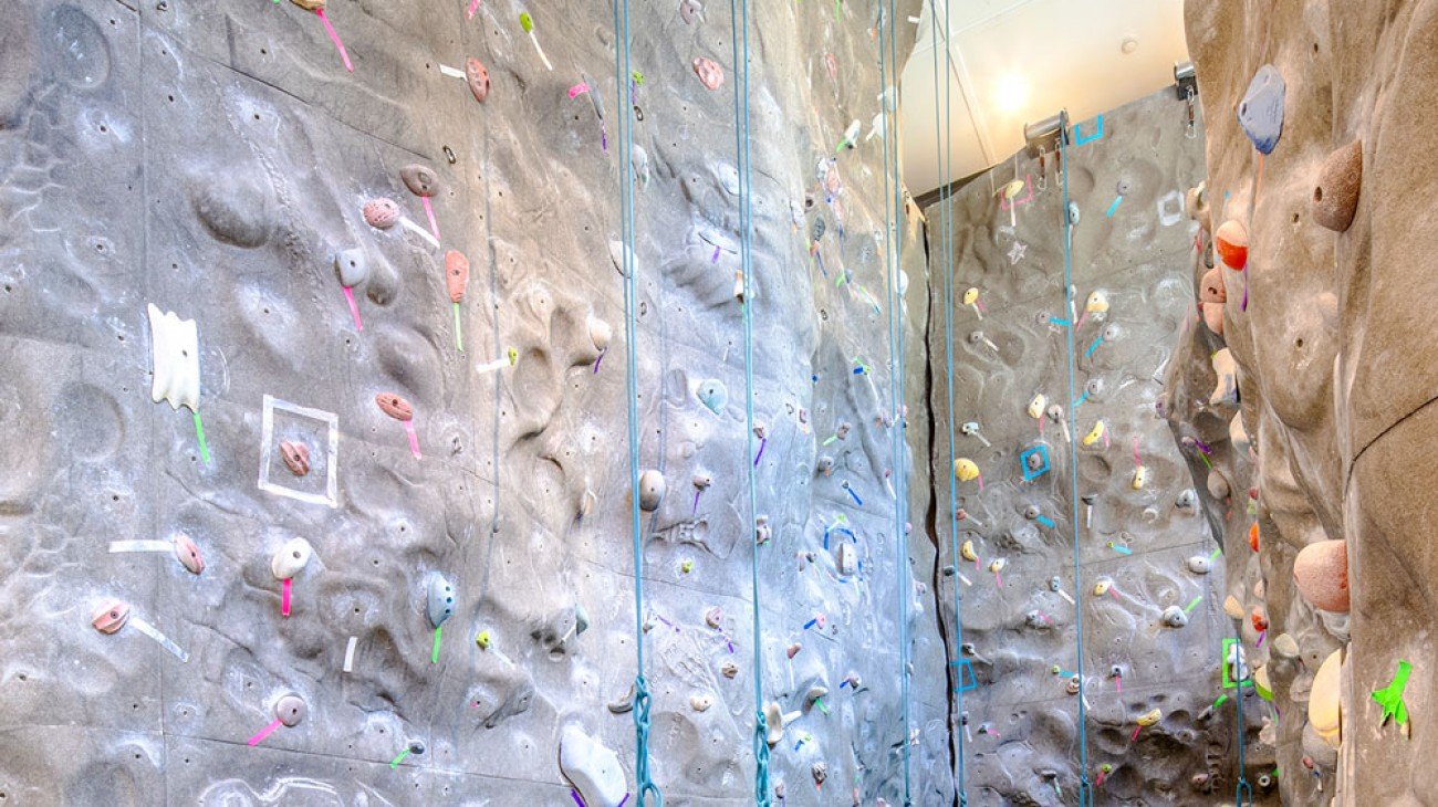 Climbing Wall, Paul Smith's College